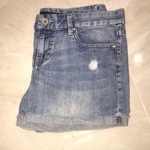 Calvin Kline Jean shorts, open to offers!